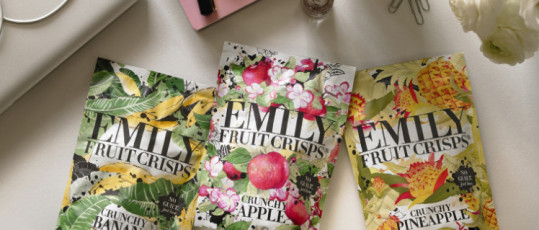 Emily Fruit Crisps - The Healthy Snack